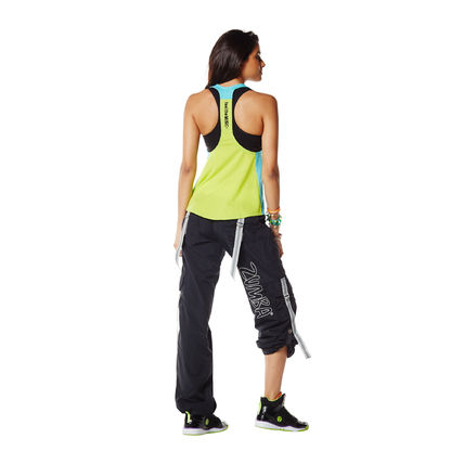 ZUMBA フィットネストップス 新作♪ZumbaズンバChill The Funk Out Racerback-DBS(3)