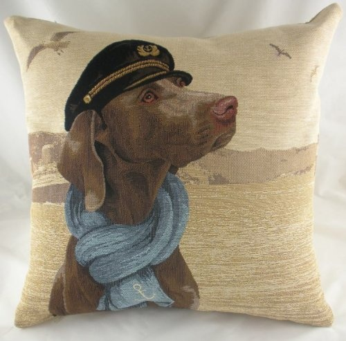 Sea Dogs Admiral Belgian Tapestry  Cushion