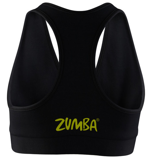 ☆ZUMBA・ズンバ☆Can't Touch This V Bra Top BK
