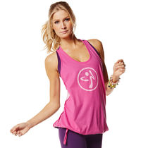☆ZUMBA・ズンバ☆Burn It Up Bubble Racerback PR