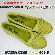 最新色即発 Limited Color ☆ Minnetonka Kilty Moc LIME