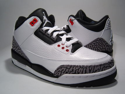 NIKE AIR JORDAN 3 INFRARED 23 Cement Mens sz8-13 送料無料