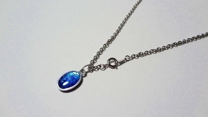 Paris Medaille Miraculeuse ネックレス・チョーカー ★パリ 奇跡のメダイ 不思議のメダイ 銀青S★40cmチェーン付(2)