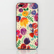 【海外限定】society6★Summer Fruits Floral iPhoneシール