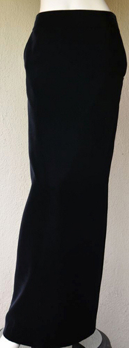 GUCCI★グッチ★素敵! Black Velvet Dress Skirt