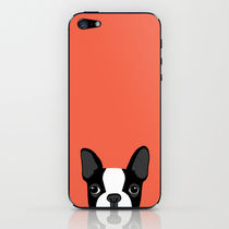 【日本未入荷】society6♥Boston Terrier iPhoneシール