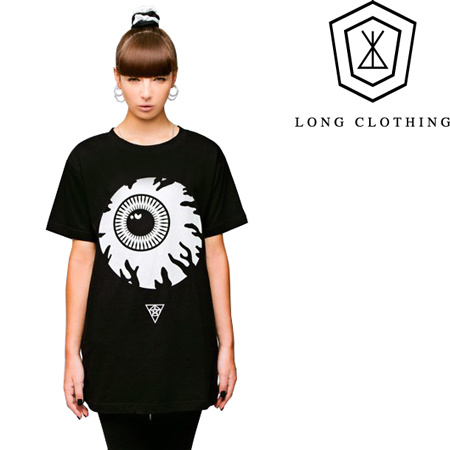 即納・LONG CLOTHING x MISHKA コラボTシャツ KEEP WATCH