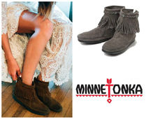☆★Minnetonka:Hi Top Back Zip Boot-291T★☆