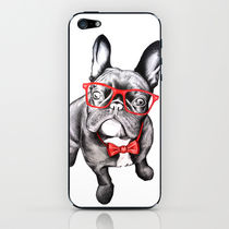 【海外限定】society6★Happy Dog iPhoneシール