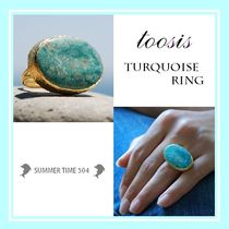 【toosis】ターコイズリング【Turquoise】