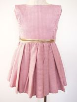 BLACKPOOLDRESS PINK GINGHAMワンピース 3歳〜8歳【即発】