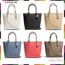 関税&送料込♪ COACH☆Mini North/South Tote in Saffiano 29001