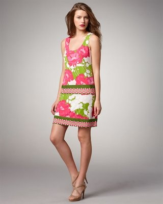 即発! サイズ2 Ali Ro Floral-Print Shift Dress