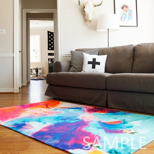 Society6★ラグマット★the first bouque◆L:122.0cm × 183.0cm
