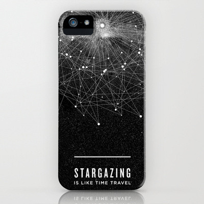 即発♪☆ iPhone 5/5sケース☆ STARGAZING IS LIKE TIME TRAVEL