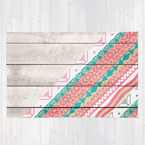 Society6★ラグマット★Andes Tribal◆L:122.0cm × 183.0cm