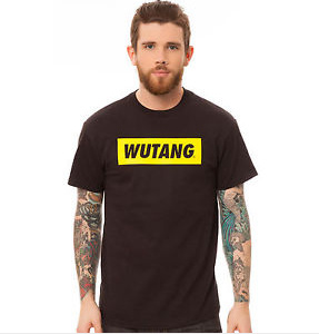 Wu Tang BOX LOGO TEE white black