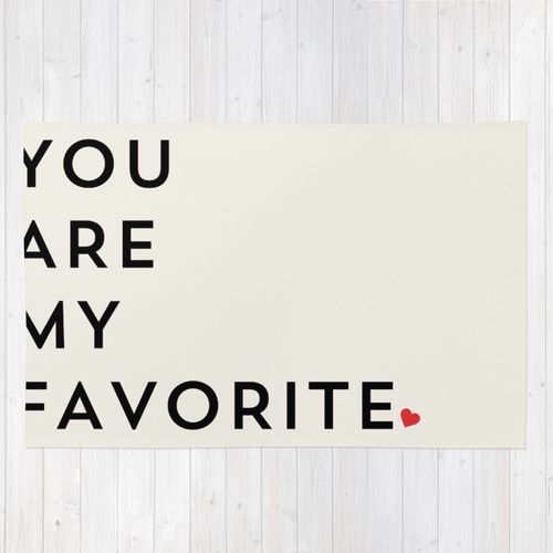 Society6★ラグマット★YOU ARE MY◆L:122.0cm × 183.0cm