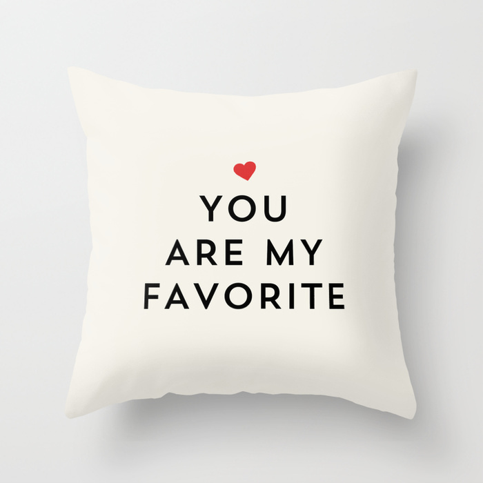 Society6★クッションカバー★YOU ARE MY FAVORITE