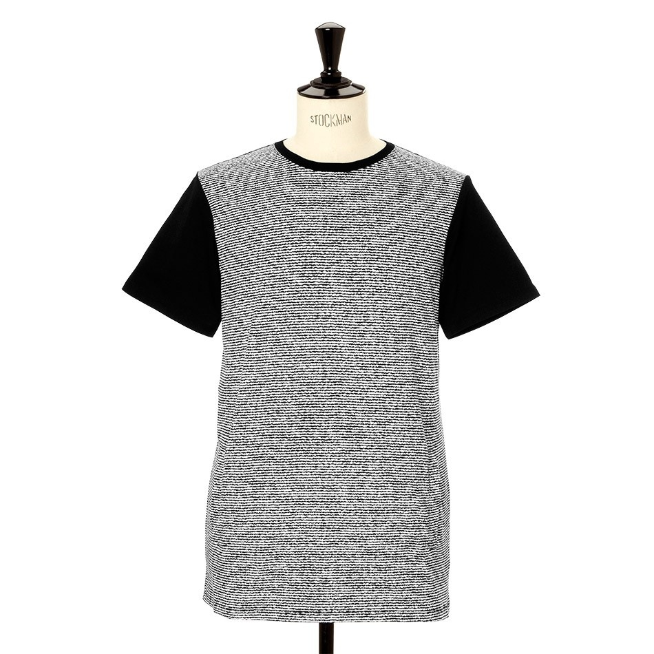 DOPE couture BASELINE TEE BLACK/WHITE