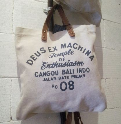 DEUS Bali from rare campus tote bag logo
