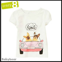Crazy8(クレイジーエイト) キッズ用トップス Crazy8【クレイジーエイト】Let's go shopping!Tシャツ 国内発送