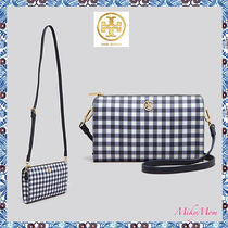 関税返金&送料込Tory Burch☆Robinson Printed Wallet CrossBody