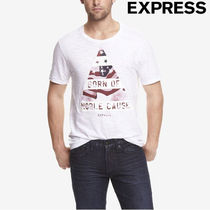 EXPRESS(エクスプレス) Tシャツ・カットソー 送料無料!国内即日発送!EXPRESS/JUSTICE TRIANGLE TEE/L