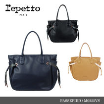 新作★Repetto PASSEPIED Silk Calfskin トートバッグ