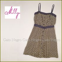 ☆⌒'*sale♥Milly水玉シルク・キャミワンピ