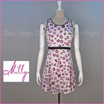 ☆⌒'*sale♥Millyジュエルプリント・シルクワンピ