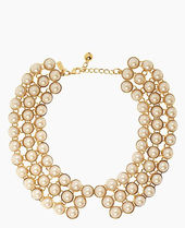 日本即納★【katespade】★READY SET PEARL COLLAR NECKLACE