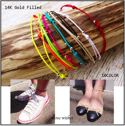 three wishes ♦ into ♦ anklet 14 K gold filled ♦ 10 color