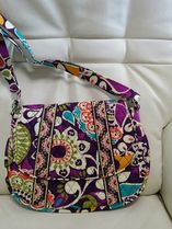 【在庫有】Vera Bradley 新Saddle Up in Plum Crazy