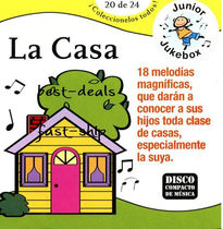 CD スペイン語童謡♪Spanish Songs-La Casa