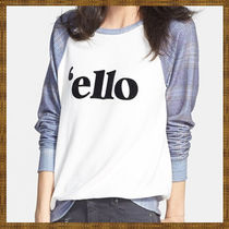 Nordstrom限定! Wildfox Couture 'ello' ロゴ プルオーバー