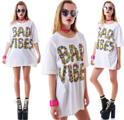UNIF Clothing Tシャツ・カットソー NEW ユニセックス在庫所持★即納・関税負担★UNIF Bad Vibes Tee(2)