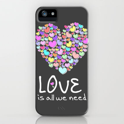 Society6 iPhone・スマホケース Society6 ケース Love is All We Need by Karma Cases