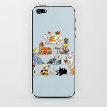 【日本未入荷】society6♥Cats iPhoneシール