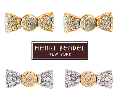 【New!!】 秋の新作 BENDEL BOW PAVE EARRING