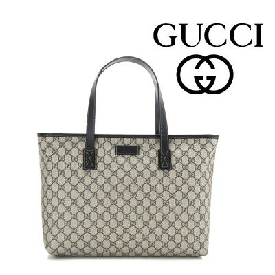 14秋冬 ☆Gucci☆ GG Supreme Canvas トートバッグ♪