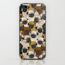 【海外限定】society6♥Pugz iPhoneシール