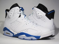 Air Jordan Retro 6 Sport Blue Mens US8-13 ブルー 送料無料