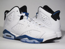 Air Jordan Retro 6 GS Sport Blue sz3.5-7Y ブルー 送料無料