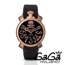 スイス製 ☆GaGa MILANO☆腕時計 MANUALE 48MM ART COLLECTION♪