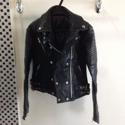 2014F/W riders jacket / top quality real leather EMS