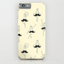 Society6 ケース The Ballet of Mustache by Ilovedoodle