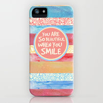 【海外限定】society6★When You Smile iPhoneケース