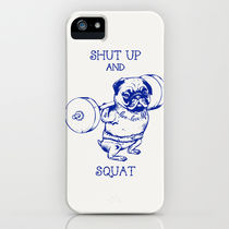 【海外限定】society6★Pug Squat iPhoneケース