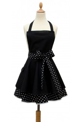 Madame choup apron Black or White